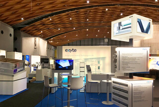 Exyte Technology stand for Lounges 2019, Karlsruhe