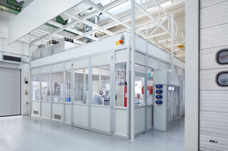 Cleanroom for traceanalysis